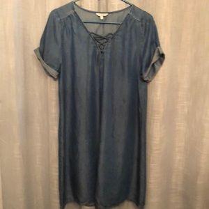 Lucky Brand chambray dress size M